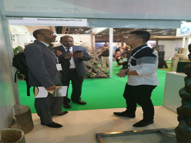 Beijing Palm at Big 5 exhibition in Dubai 2019-4